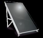 Слънчев колектор плосък BLACK INOX 2кв.м