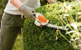 Акумулаторни ножици за храсти и за жив плет Мобилни, тихи и мощни