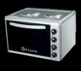 Готварска печка с чугунени нагревателни плочи
