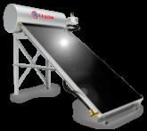 Термосифонни системи за хоризонтален покрив -бойлер 120л-колектор 2кв.м